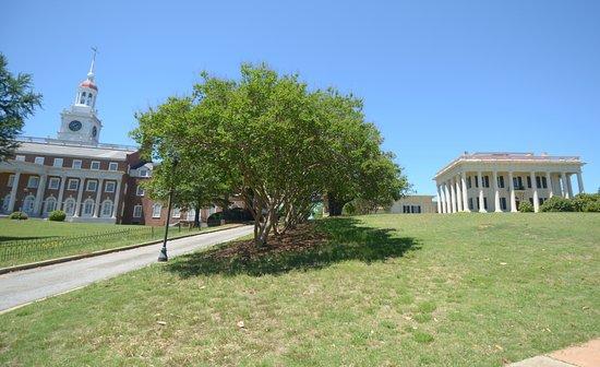 Coleman Hill park: il parco con le ville