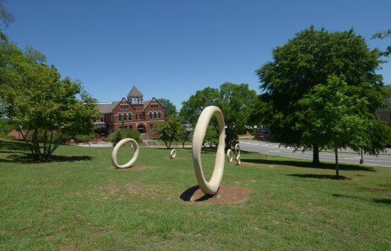 Coleman Hill park: il parco con le sculture