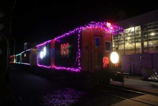 Portola, Kaliforniya: Christmas Train  !!!