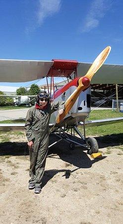 Classic Flights: Harry pre-flight.
