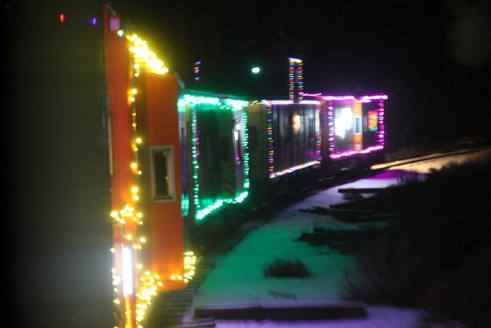 Portola, Kaliforniya: Riding the Christmas Train !!!
