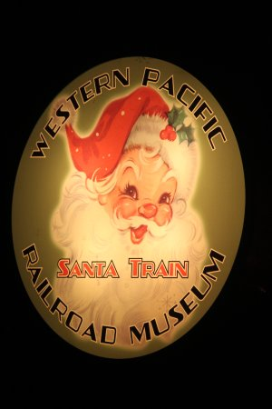 Portola, Kaliforniya: Santa Train !!!!!