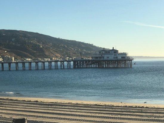 Malibu Lagoon State Beach : the pier