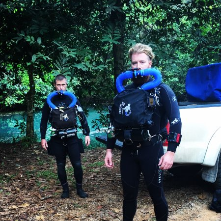 CCR Cave Diving with Claus - Picture of Blue Label Diving, Rawai