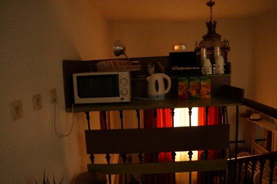 Pension Zurita : Sector café/té libre disponibilidad
