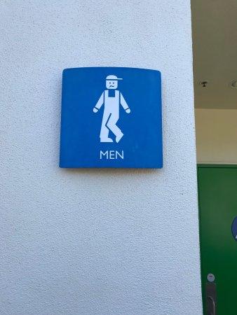 legoland california funny bathroom signs - Funny Bathroom Signs