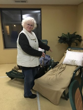 Latta, SC: Stranded travelers were helped by the hotel staff find shelter for the night