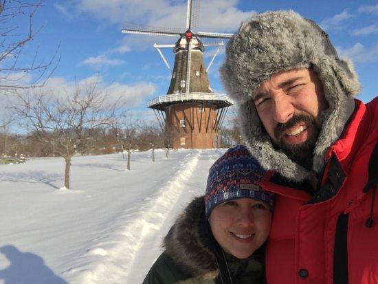 Windmill Island Gardens : Molino