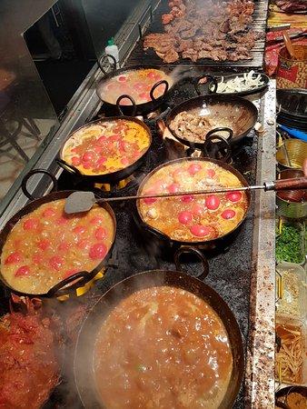 Fresh chapliii kebabs  Fresh peshaweri and charsi karahi  And fresh afghan grill