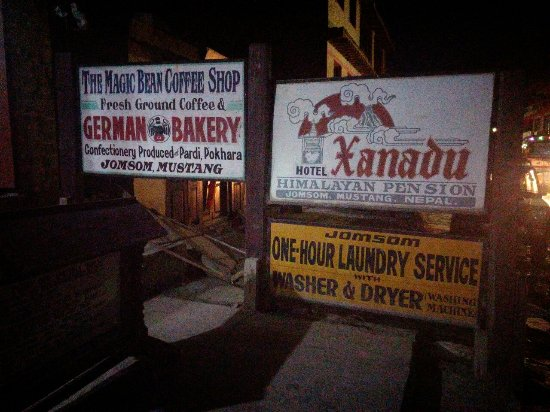 Jomsom, نيبال: too much greed lady owner.
