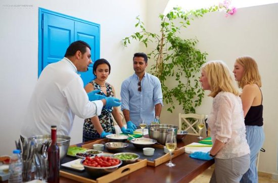 Santorini Small-Group Cooking Class...