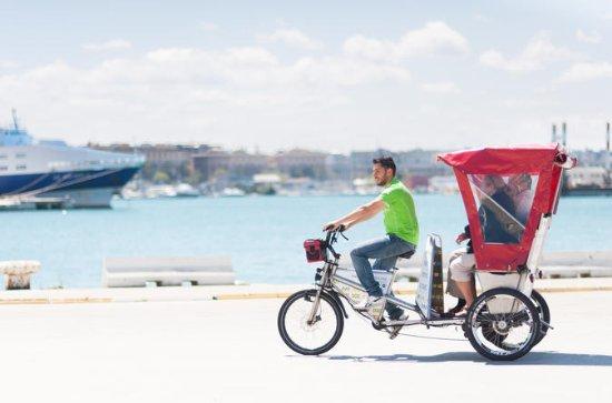 Stadtbesichtigung mit Rikscha in Bari