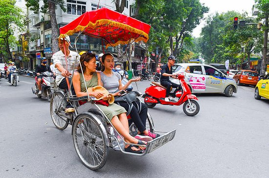 Hanoi Cyclo and Walking Small-Group...