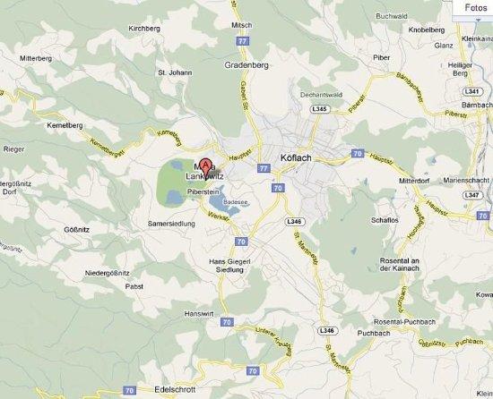Maria Lankowitz, Østrig: Map