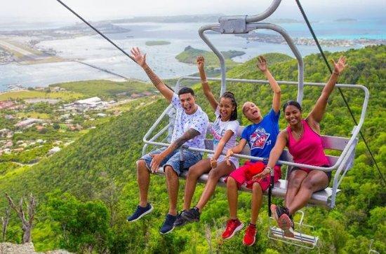 St. Maarten Soualiga Sky Explorer Chairlift Explorer