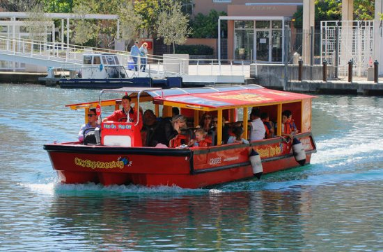 Cape Town Hop-On Hop-Off Canal Cruise