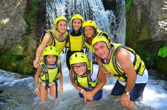 Excursion en rafting en famille au...