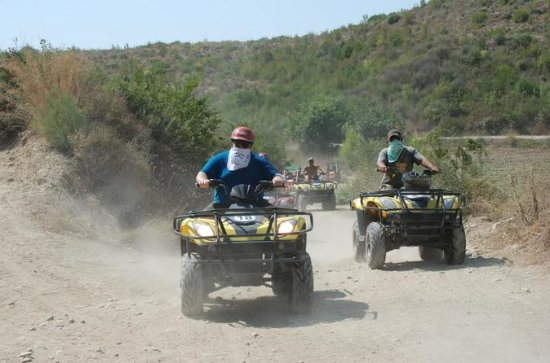 Off-Road Quad Biking Tour in Belek