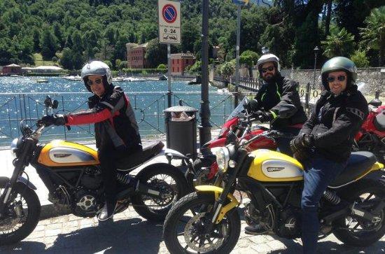Moto Lago Como - Paseo en moto por el...