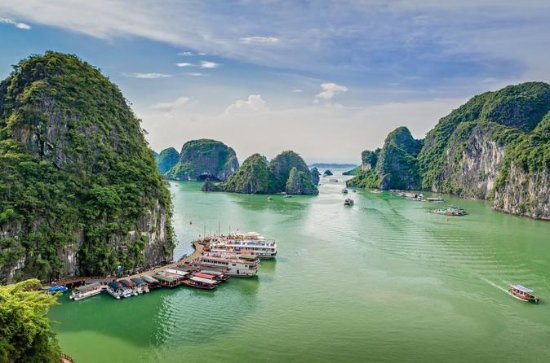 Hanoi to Ha Long Bay By Shuttle Bus...