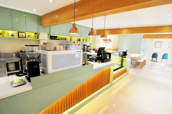 Iriga City, الفلبين: A combination of the urban and the rural accent all in one coffee shop