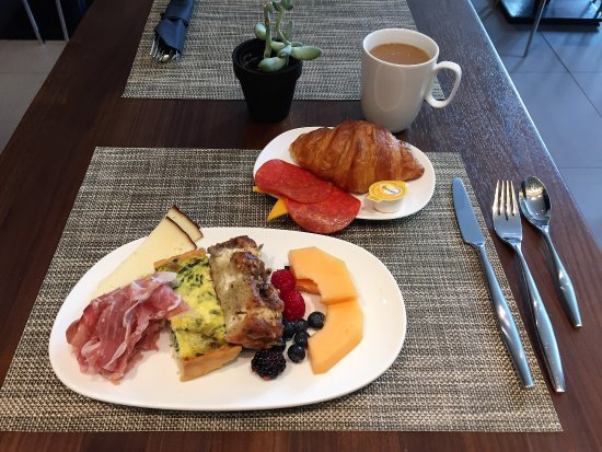 European style breakfast - Picture of AC Hotel Phoenix Tempe ... on