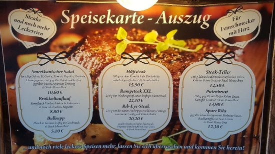 Bad Wilsnack, Jerman: Steak-House & Pub
