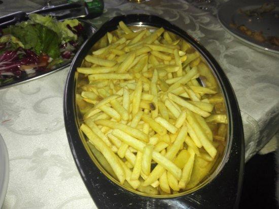 Stella Cilento, Italie : patatine