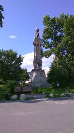 Skowhegan, Maine: Skowhegan Indian Monument