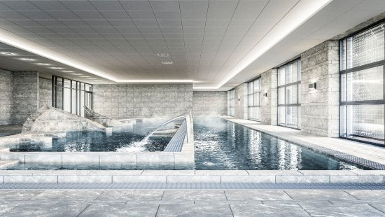 Brides-les-Bains, Francia: Espace aquatique du Spa