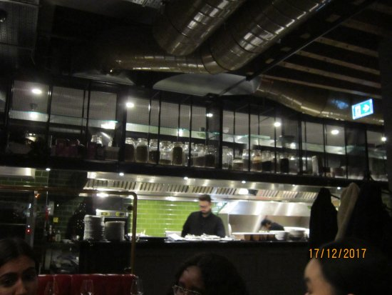 cucina a vista - Picture of Kibele Restaurant & Bar, London ...