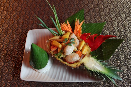 Le Café Thaï : Sauté de Seiches aux ananas