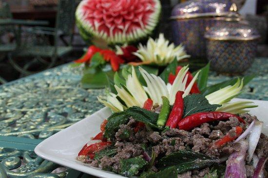 Le Café Thaï : Boeuf sauté au Basilic Thaï
