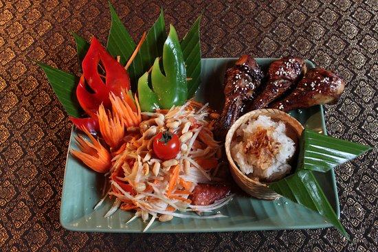 Le Café Thaï : Salade de Papaye