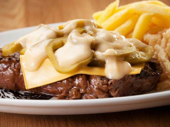 Bergvliet, South Africa: Jalapeno Steak