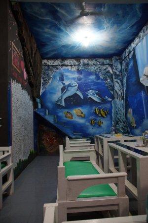 Bangko, Indonesia: Kleurrijk interieur