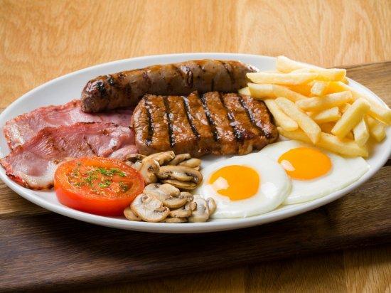 Benoni, South Africa: Full Breakfast