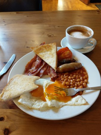 Brexit Breakfast (you can have mushrooms and black pudding, too)