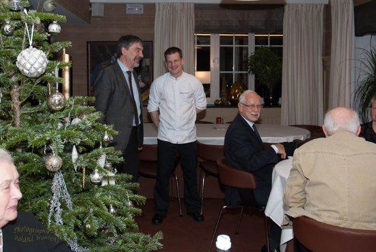 Paliseul, Bélgica: Chef de rang Benoît et Chef de cuisine Nicolas