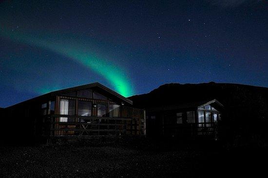 บอร์การ์เนส, ไอซ์แลนด์: Summerhouse with Northern Lights