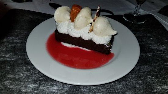 Village vacances Ker Beuz : Dessert du réveillon