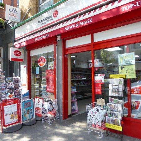 Holiday Inn London Bloomsbury: Postagentur beim Hotel
