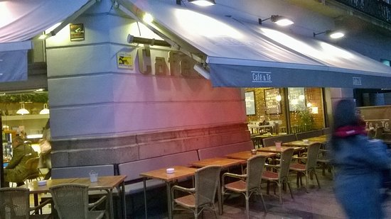 Terraza Exterior Picture Of Cafe Te Goya 18 Madrid