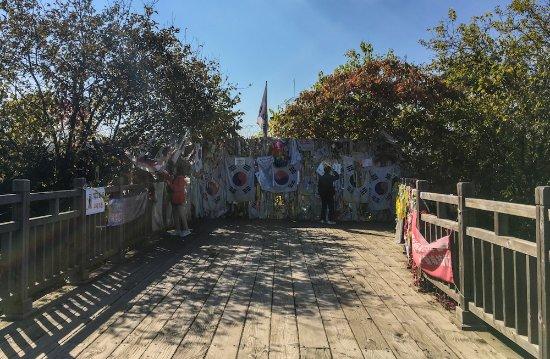 Panmunjeom : Freedom Bridge in Imjingak Village
