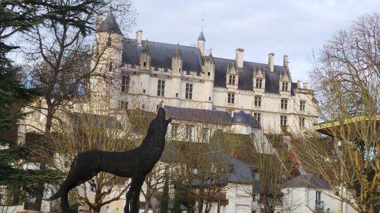 Chedigny, France: Cité médiévale de loches, Nouvel An 2017