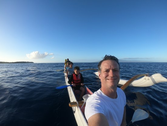 Ali'i Maui Outrigger Canoes: Me and the family