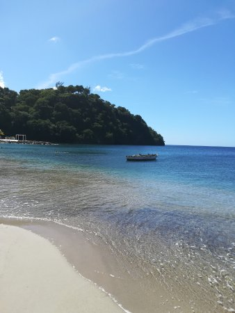 Kingstown, St. Vincent: Vista dalla spiaggia
