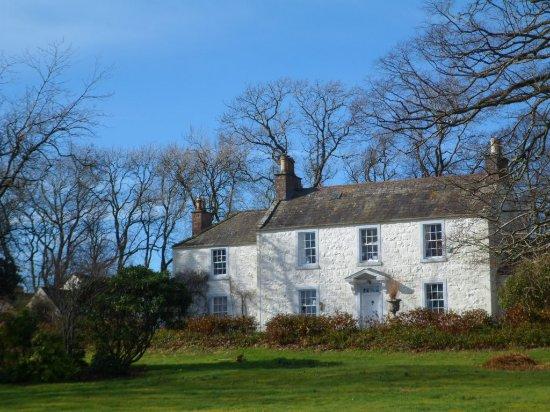 Auchencairn, UK: Hazlefield House - winter view