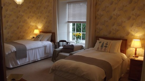 Auchencairn, UK: Room 3 - ground floor, twin-bedded room