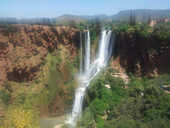 Marrakech-Tensift-El Haouz Region, Marocko: Ouzoud waterfalls
